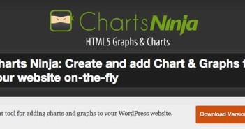 Plugin Wordpress para añadir gráficos estadísticos: Charts Ninja