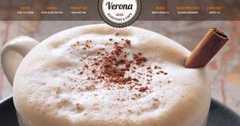 Temas Wordpress para cafeterías: Verona