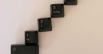 Los tres niveles de jerarquía tipografica