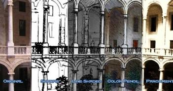 Acciones Photoshop para lograr efectos de boceto: FoaS Media Action
