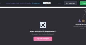 Aplicaciones para Instagram para tu negocio: Pickdeck