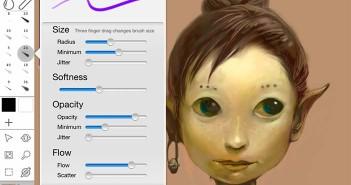 Aplicaciones para iPad para ilustración digital: Inkist