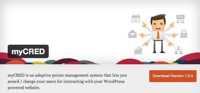 Plugin Wordpress para organizar concursos: myCRED