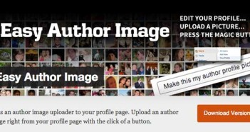 Plugin Wordpress para realizar cambios a tu página de autor: Easy Author Image