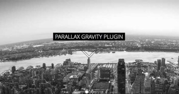 Plugin Wordpress para implementar efecto parallax: Gravity