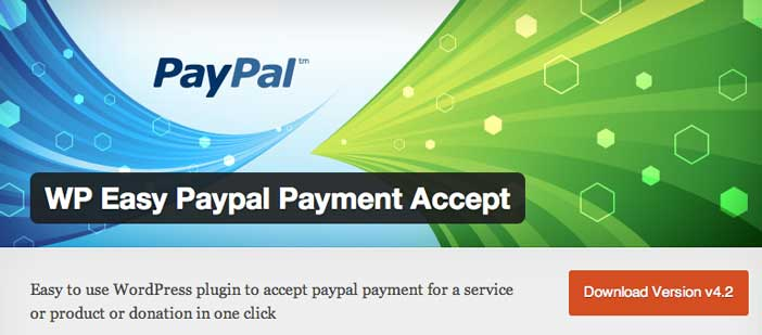 Plugin Wordpress para PayPal: WP Easy PayPal Payment Accept