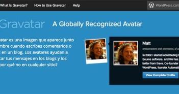 Utilidad de usar un Wordpress Gravatar