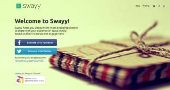 Herramientas para campaña de marketing en redes sociales: Swavy