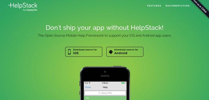 Herramientas para recolectar comentarios sobre tus aplicaciones móviles: Helpstack