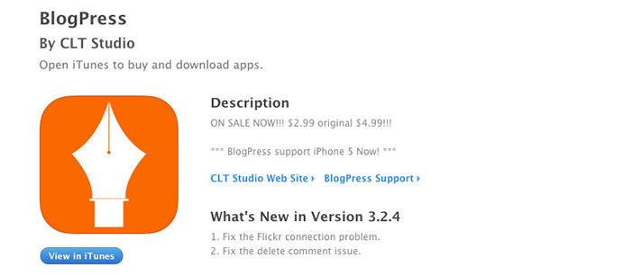 iOS app para usuarios de Wordpress