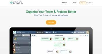 Servicios de gestión de proyectos colaborativos: Casual
