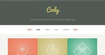 Temas Wordpress sencillos: Cody