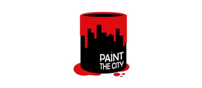 Diseño de logos que hacen uso efectivo de los espacios en blanco: Paint the City