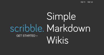 Lista de Markdown Editor: Scribble