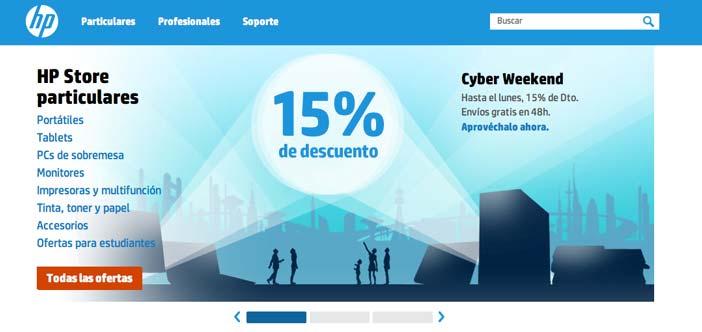Las mejores ofertas del Cyber Monday en HP