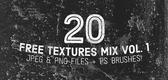 Paquetes de texturas gratis: Free Texture Mix Vol. 1