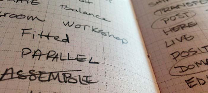 Aclaraciones sobre el proceso de diseño: Lluvia de ideas