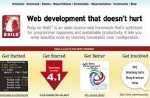 Razones para usar la framework Ruby on Rails: Es de código abierto