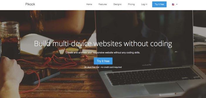 Servicios para crear sitio web: Pikock