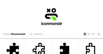 Sitios web donde descargar iconos en formato SVG: Iconmonstr