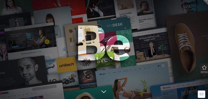 Temas Wordpress flexibles para crear y personalizar tu sitio desde cero: Be Theme