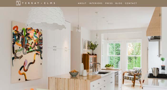 ejemplos de paginas web de agencias de dise o de interiores On diseño de interiores web