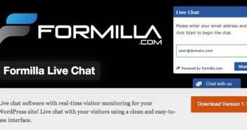 Plugin Wordpress para integrar salas de chat a tu sitio: Formilla Live Chat