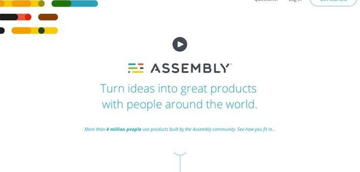 Ejemplos de landing pages con un gran diseño: Assembly