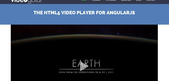 Herramientas útiles para la framework JavaScript AngularJS: Videogular