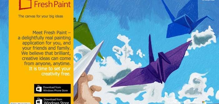 Programas para ordenadores de ilustracion digital: Fresh Paint