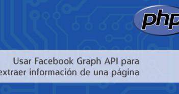 Cómo usar la Facebook Graph Api para extraer información de una página