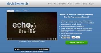 Plugin Jquery para reproducir audio en tu sitio: Media Element.js