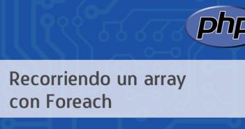 Recorriendo un array en PHP con Foreach