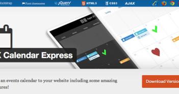 Plugin Wordpress para añadir calendarios con eventos a tu sitio: X Calendar Express