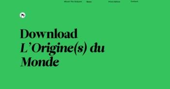 Cómo sacar provecho del diseño minimalista: Tipografía en gran tamaño
