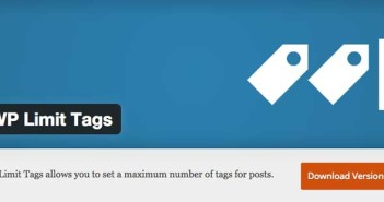 Plugin Wordpress para organizar categorías y etiquetas: WP Limit Tags