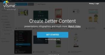 Herramientas online para hacer infografías: Visme.co