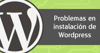 Detectar problemas de instalación en Wordpress