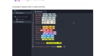 Atom Packages que todo desarrollador necesita: Pigments