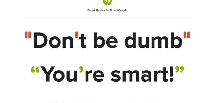 Capacidades ocultas del lenguaje CSS: Smart Quotes