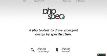 Framework PHP para automatizar pruebas: PHPSpec