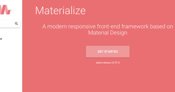 Framework responsive alternativas a Bootstrap: Materialize