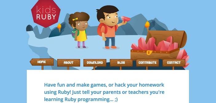 Herramientas que facilitan la programación para niños: Kids Ruby