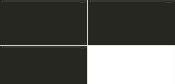 Opciones de editor JavaScript en línea: Kodtest