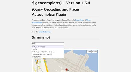 Plugin jQuery para implementar función Autocompletar en tu sitio: Geocodign and Places Autocomplete