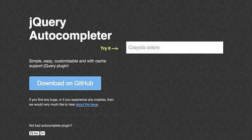 Plugin jQuery para implementar función Autocompletar en tu sitio: jQuery Autocompleter