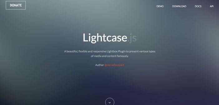 Plugins jQuery responsive para incluir efecto lightbox a tus imágenes: Lightcase