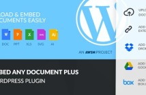 Plugins Wordpress para Dropbox: Embed Any Document Plus