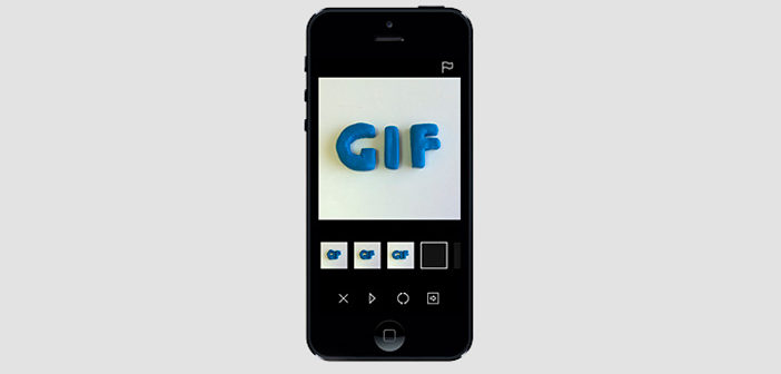 Aplicaciones para iOS para crear GIFs animados
