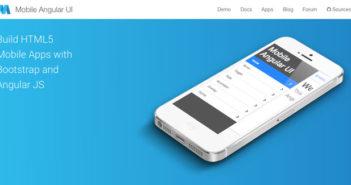 Framework móviles para crear aplicaciones usando HTML, CSS y JavaScript: Mobile Angular UI